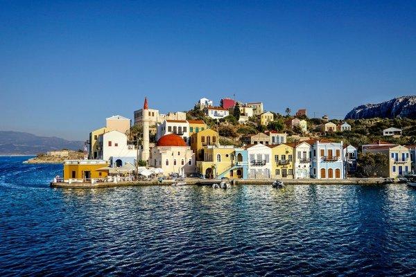 Яркие краски острова Кастелоризо